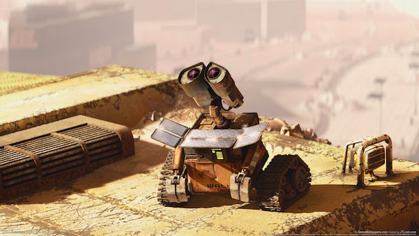 Wall-E Recharges