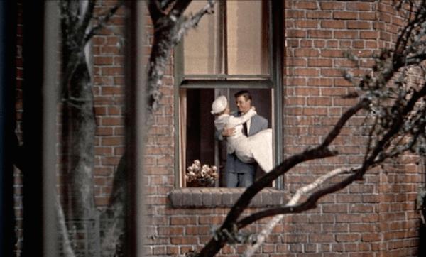 rear window newlyweds