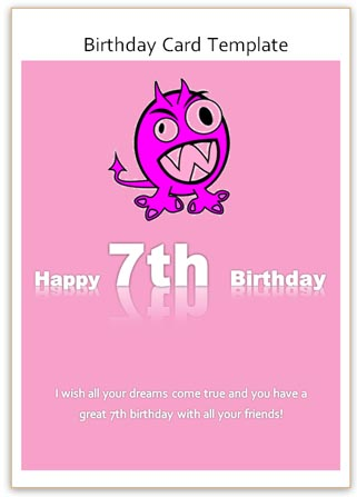 happy birthday card templates word - Jolivibramusic - Birthday Wishes Templates Word
