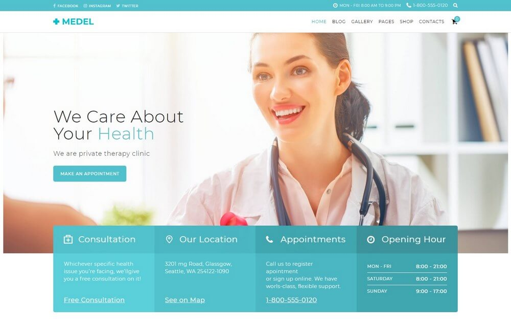 25+ Best Medical WordPress Themes 2018 - Theme Junkie