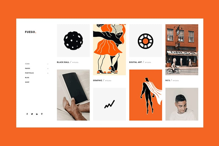 30+ Best WordPress Themes for Artists - Theme Junkie