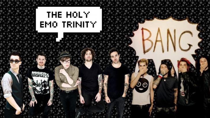 Mcr Panic At The Disco Fall Out Boy Wallpaper Emo Trinity Chrome Theme Themebeta