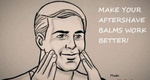 Make your aftershave balms work better!