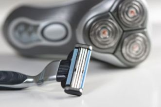 electric shaver and Manual Shaver