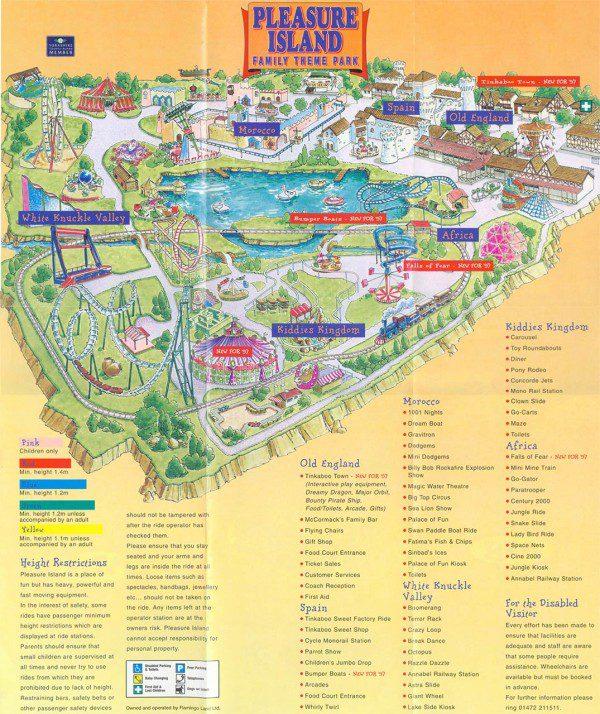 Theme Park Brochures Pleasure Island Family Theme Park - Theme Park
