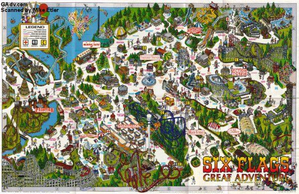 Great Adventure Six Flags Nj Six Flags Great Adventure Official Site Theme Park Brochures Six Flags Great Adventure Theme