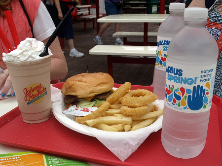Theme Park Insider Summer Roadtrip Six Flags Great America - six flags food