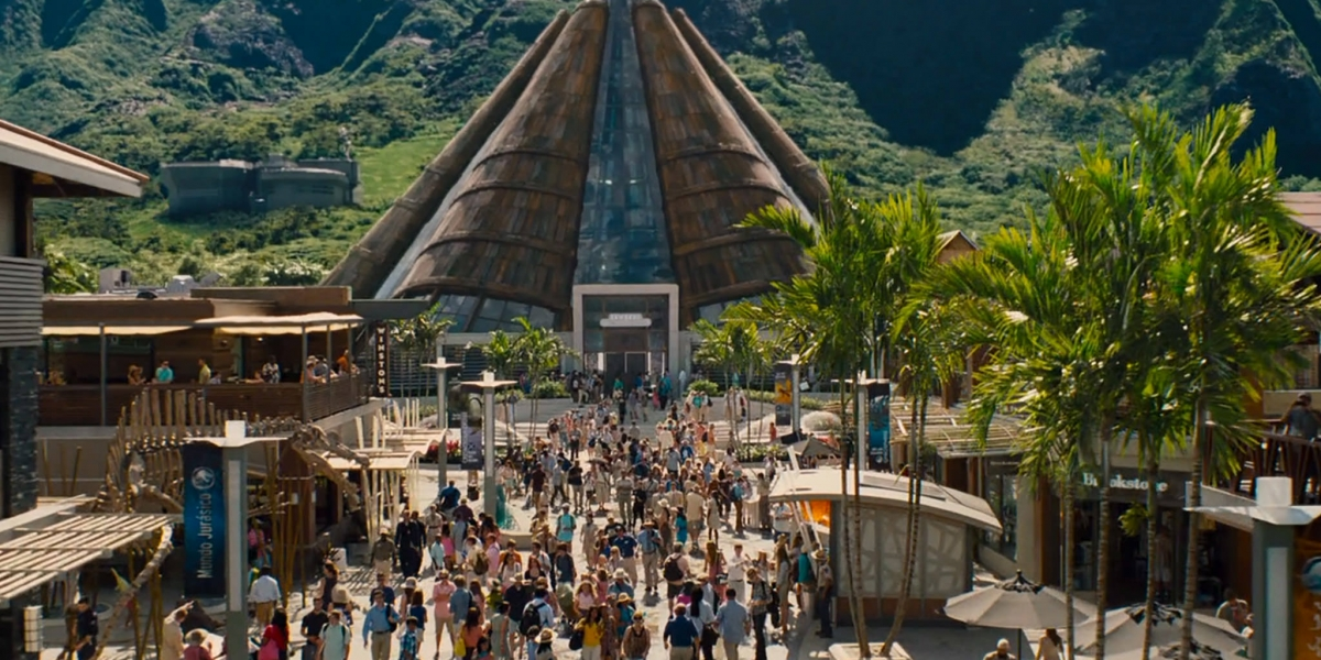 Walking With Dinosaurs 3d Wallpaper Theme Park Review Rct3 Jurassic World Theme Park Page 3