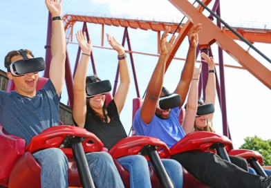 Six Flags Great America Announces New VR Experience on Raging Bull