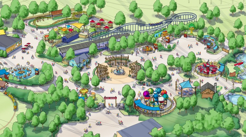 NEWLY EXPANDED KIDS' AREA, PRE-K PASS TO DEBUT AT CAROWINDS IN 2018