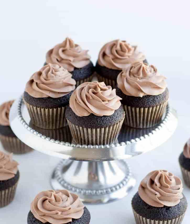 Dark Chocolate Cupcakes 17