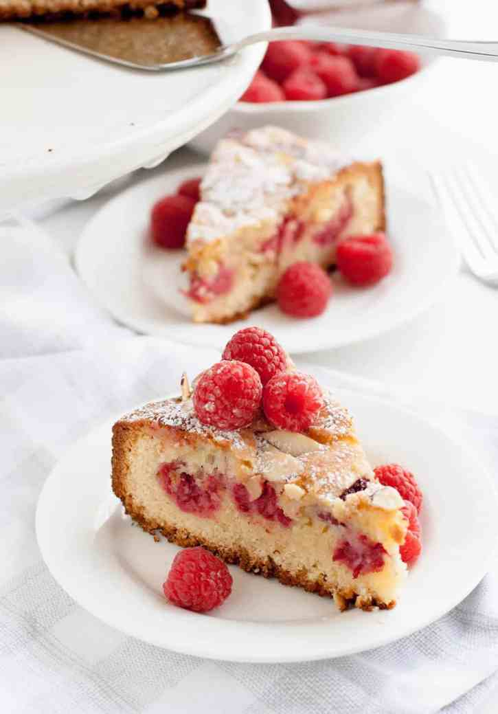 Raspberry Almond Cake 14