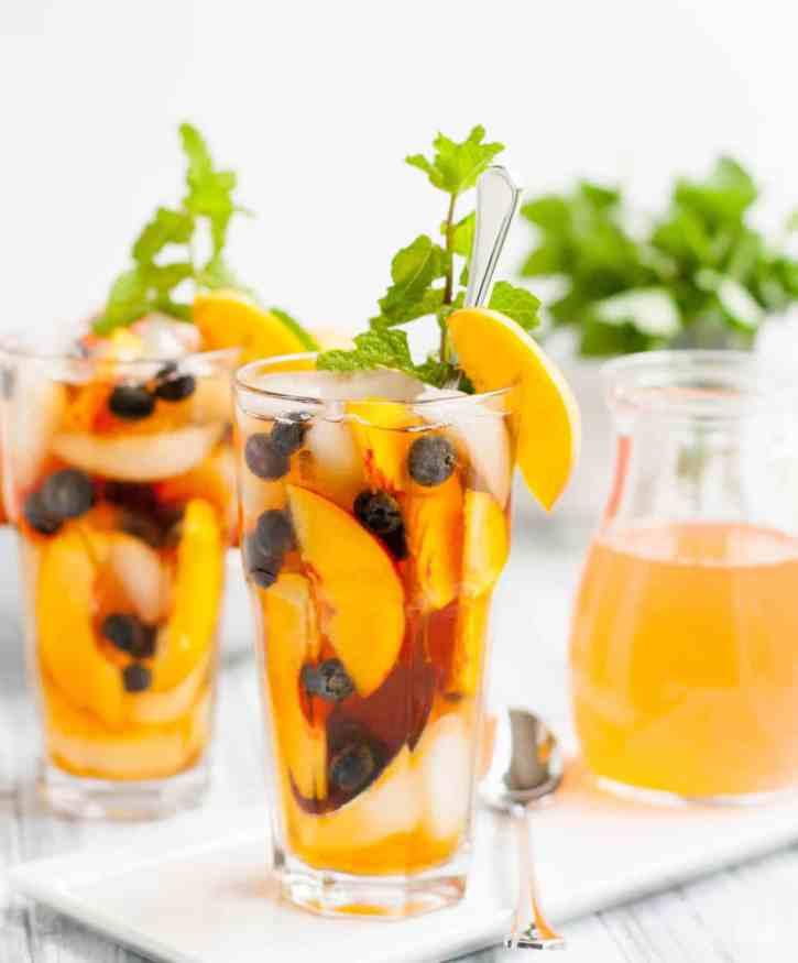 Fresh Peach Iced Tea-4