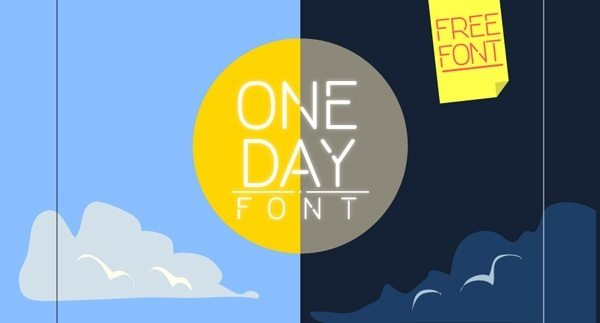One Day Font Download