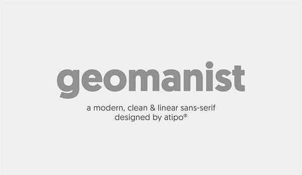 Geomanist Font Download