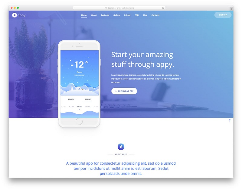 Top 10 Free responsive website templates of 2018
