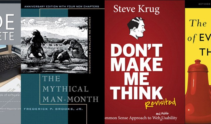 Recommended readings, by Jeff Atwood