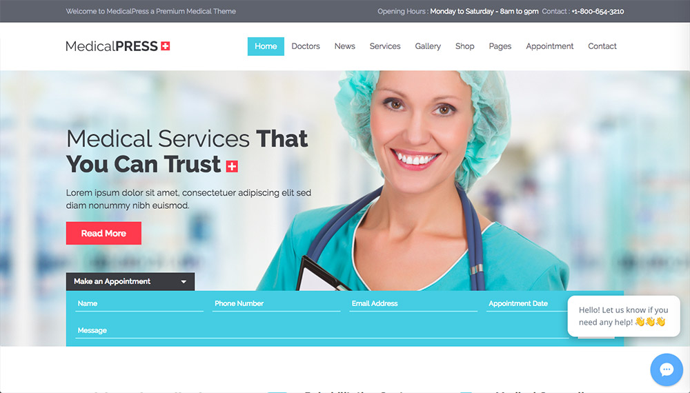 Best Health and Medical WordPress Themes for Doctors and Hospitals