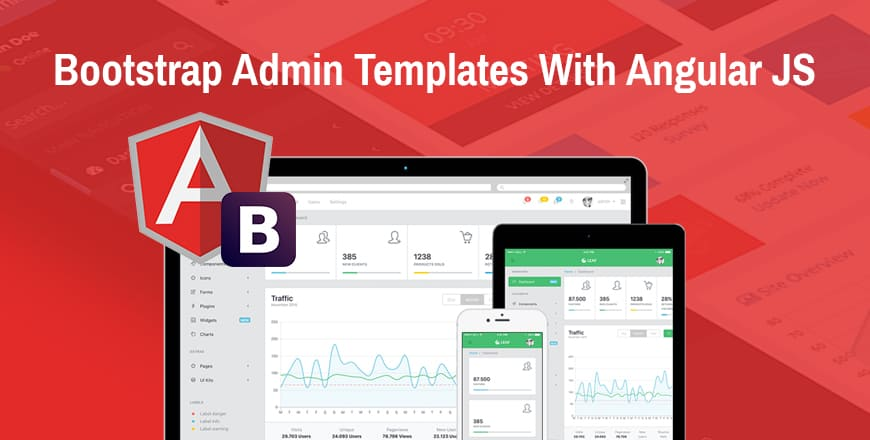20+ Free  Premium AngularJS Admin Templates Built With Bootstrap