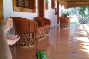 Beer break at the Chichen Itza Hacienda