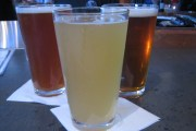 Beers at Eno's Pizza in Dallas