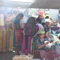 Zapotec women at the Tlacolula market in Oaxaca