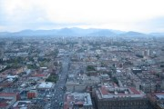 Mexico City, as seen from the top of the Torre Latinoamericana