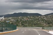 Entering Oaxaca City