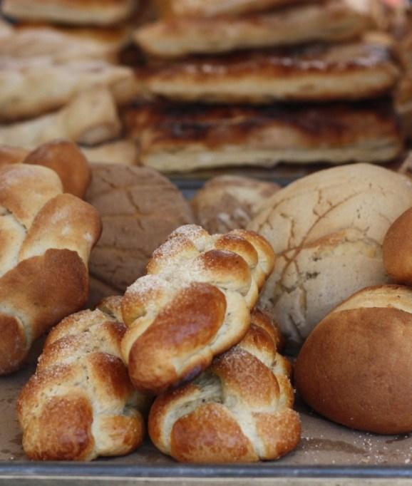 Sweet rolls in Tenancingo, Estado de México.