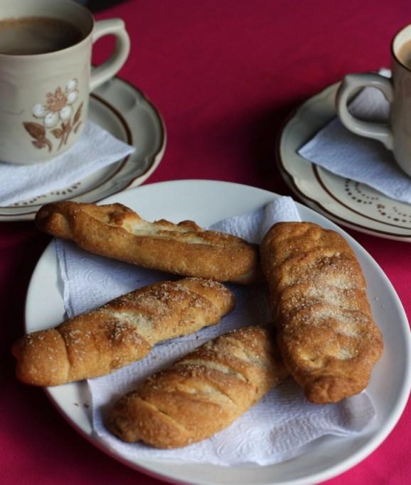 Lightly sweet pan dulce in a fonda in Santa Catarina Minas, Oaxaca.