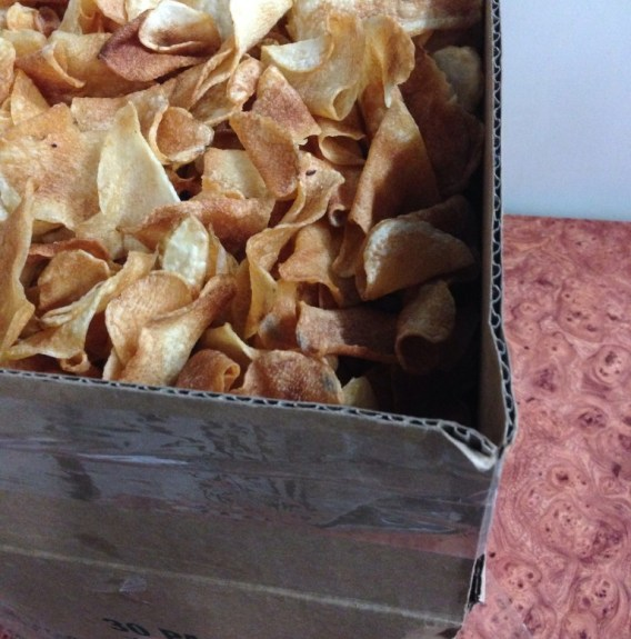 Homemade Potato Chips in Sunset Park, Brooklyn. Photo by Mira Evnine.