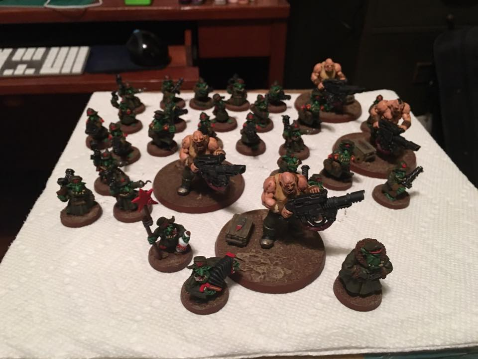 Finished Platoon