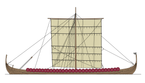viking, longship, gokstad, long, ship, plan, drawing, free, Norway