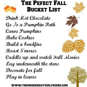 fall-bucket-list the modern day girlfriend