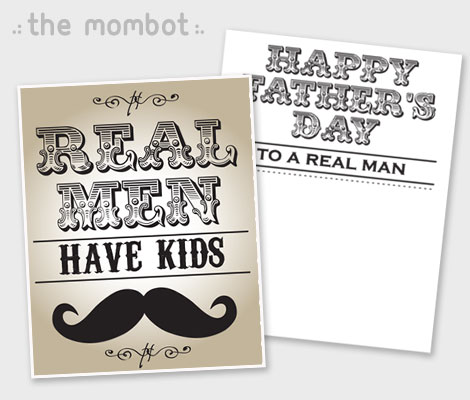 Free Printables Father\u0027s Day Cards - The Mombot - father day cards from daughters