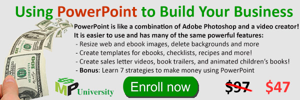 Using PowerPoint to Build Your Business