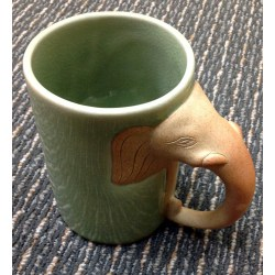 Small Crop Of Elephant Mug With Trunk Handle