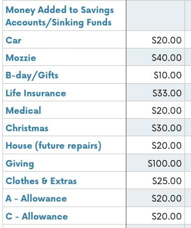 January Budget Review - The (mostly) Simple Life - simple budget