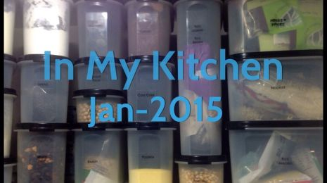 In My Kitchen Jan 2105