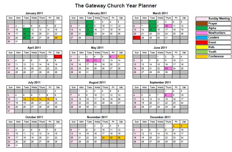 The year planner \u2013 The Moyles - multi year planner