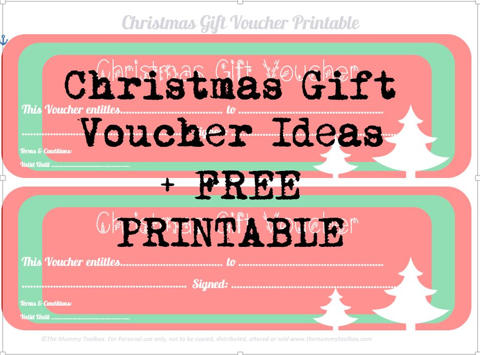 Free printable gift coupon template - visualbrainsinfo - gift coupon template