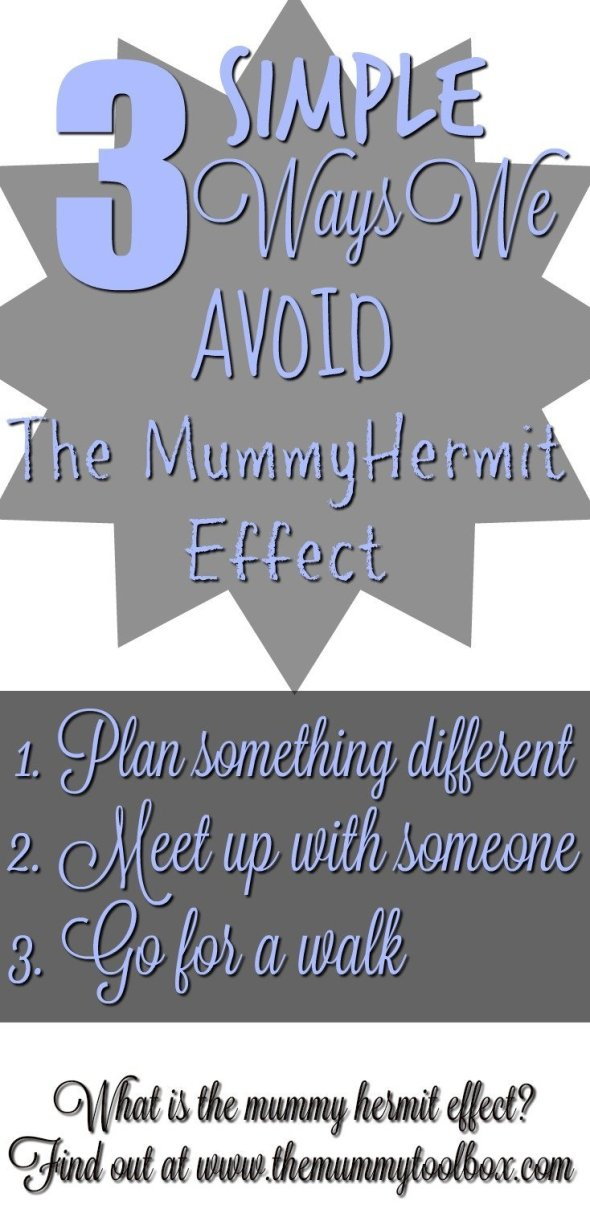3 simple ways to avoid the mummy hermit effect - it sounds too easy but they definitely help!