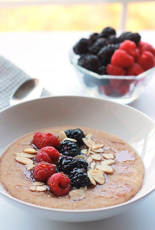 Cinnamon Amaranth with berries by The Whole Serving - YumTum 7 most clicked