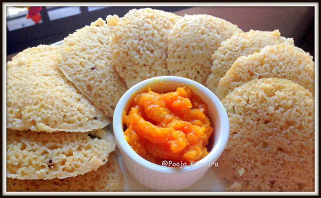 Broken wheat idli