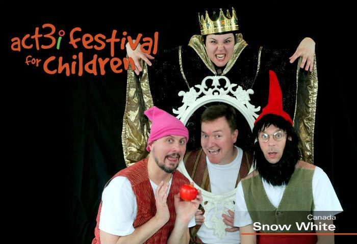 ACT 3i Festival for Children Snow White (logo)