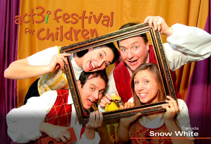 ACT 3i Festival for Children Snow White (with logo)