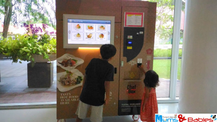 Hotelchangi food Vendingmachine