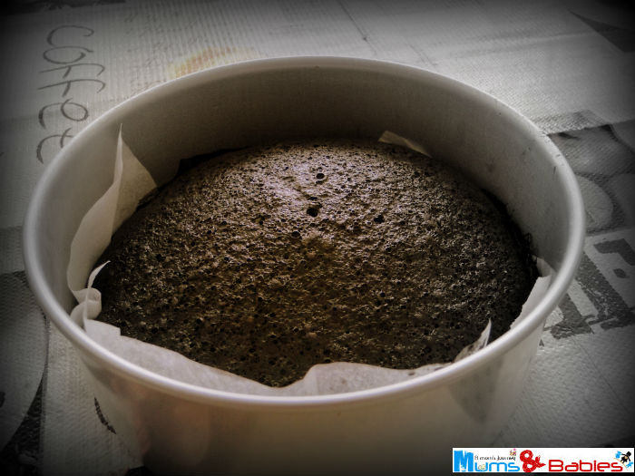 Steamed Chocolate cake