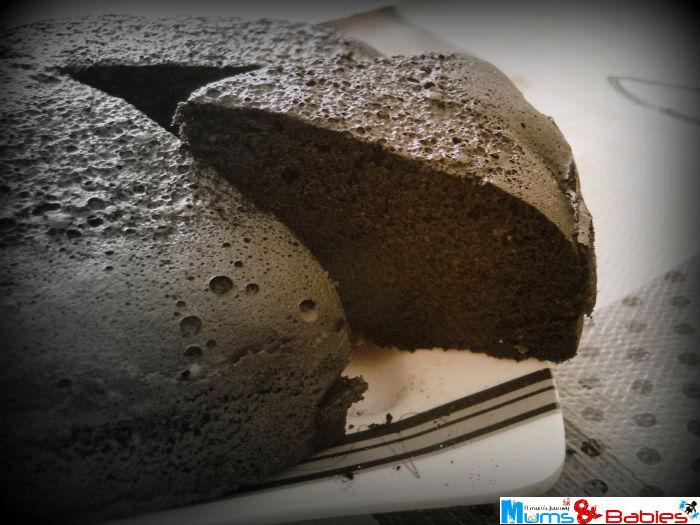 Steamed Chocolate cake1