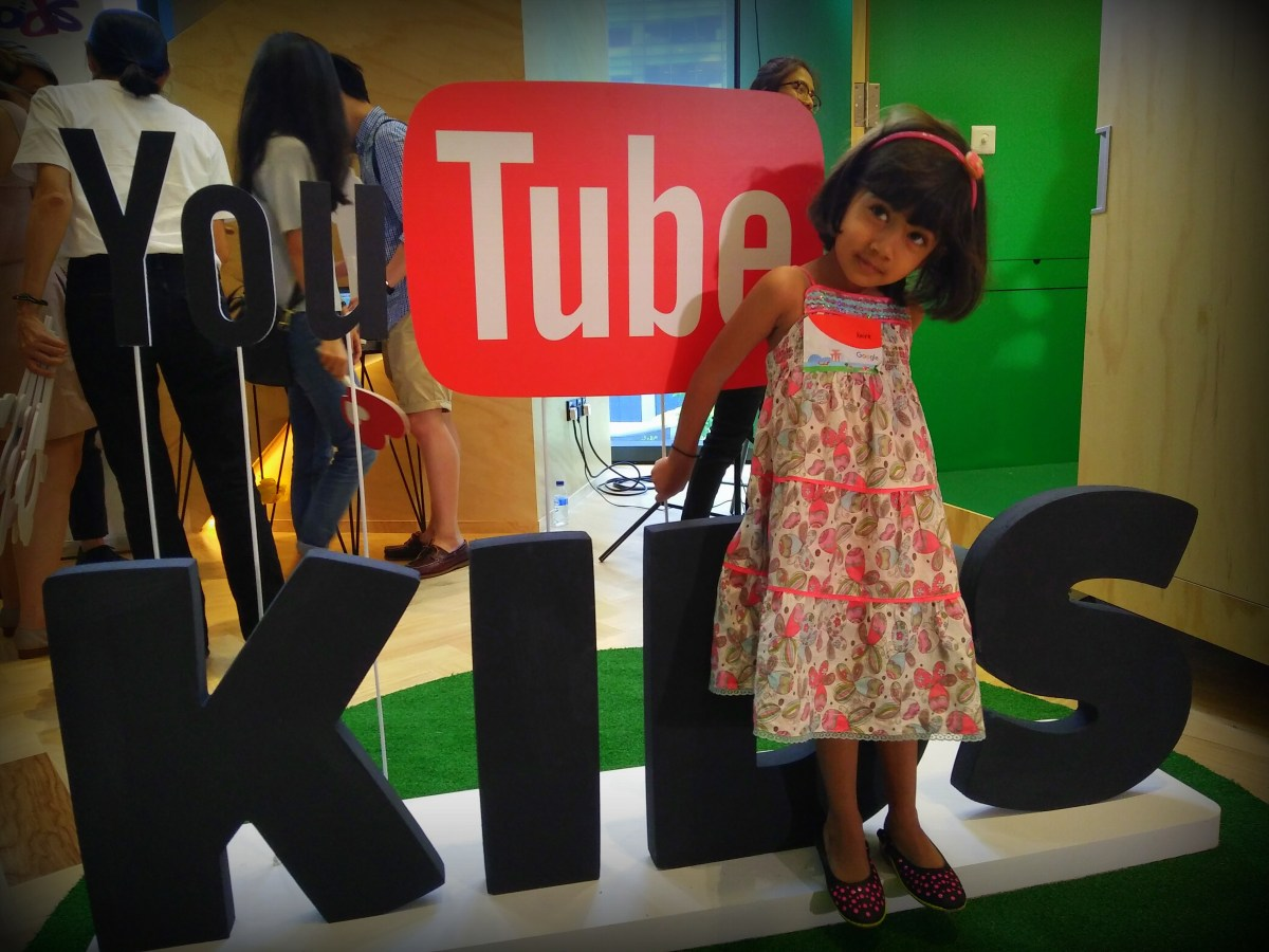 YouTube Kids launch in Singapore